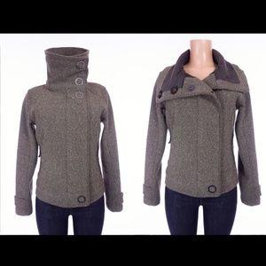 Lululemon Audrey Bomber Tweed Crop Jacket - 6